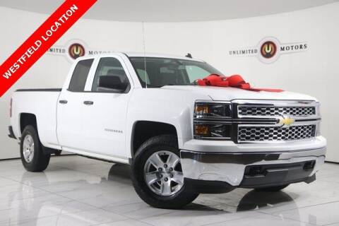2014 Chevrolet Silverado 1500 for sale at INDY'S UNLIMITED MOTORS - UNLIMITED MOTORS in Westfield IN