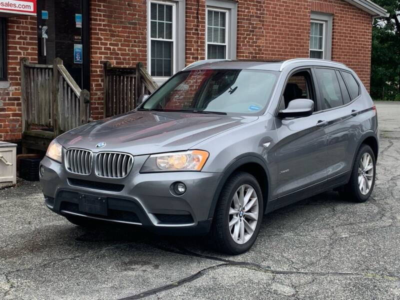 2013 BMW X3 for sale at Ludlow Auto Sales in Ludlow MA