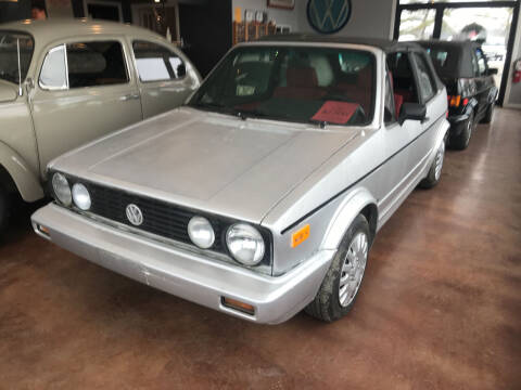 1990 Volkswagen Cabriolet for sale at eurO-K in Benton ME
