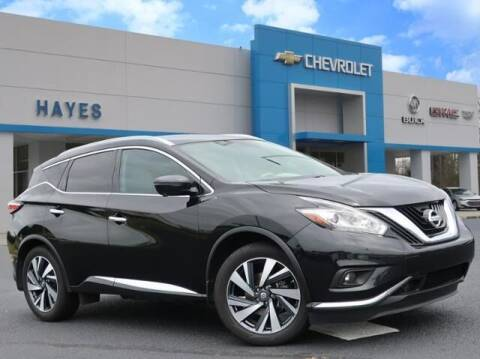 2017 Nissan Murano for sale at HAYES CHEVROLET Buick GMC Cadillac Inc in Alto GA