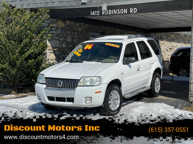 2006 Mercury Mariner for sale at Discount Motors Inc in Old Hickory TN