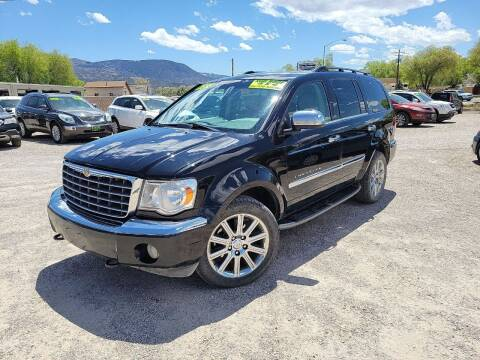 2007 Chrysler Aspen for sale at Canyon View Auto Sales in Cedar City UT