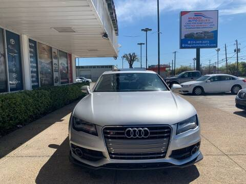 2012 Audi A7 for sale at Magic Auto Sales in Dallas TX