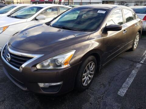 2015 Nissan Altima for sale at Castle Used Cars in Jacksonville FL