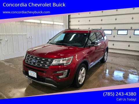 2017 Ford Explorer for sale at Concordia Chevrolet Buick in Concordia KS