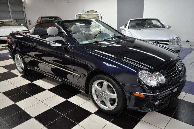 2004 Mercedes-Benz CLK for sale at Podium Auto Sales Inc in Pompano Beach FL