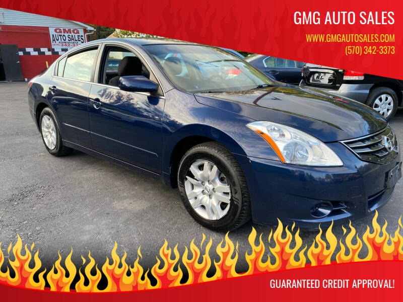 2011 Nissan Altima for sale at GMG AUTO SALES in Scranton PA