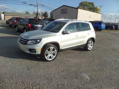 2012 Volkswagen Tiguan for sale at Terrys Auto Sales in Somerset PA