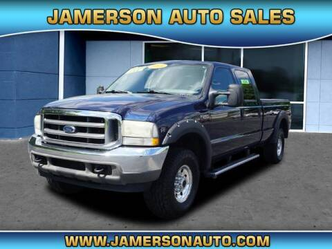 2004 Ford F-250 Super Duty for sale at Jamerson Auto Sales in Anderson IN