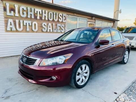 2008 Honda Accord for sale at Lighthouse Auto Sales LLC in Grand Junction CO