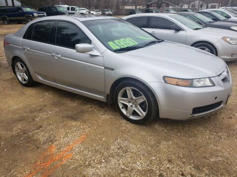 2005 Acura TL for sale at Northwoods Auto & Truck Sales in Machesney Park IL