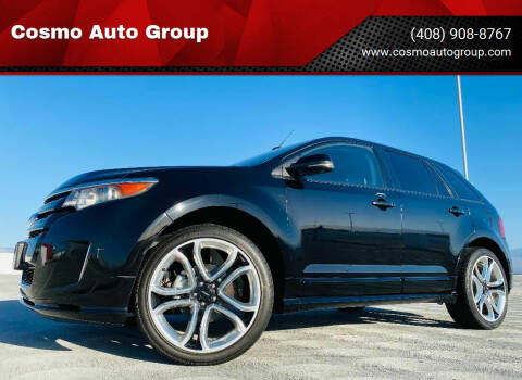2012 Ford Edge for sale at Cosmo Auto Group in San Jose CA