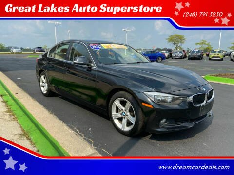 2015 BMW 3 Series for sale at Great Lakes Auto Superstore in Waterford Township MI