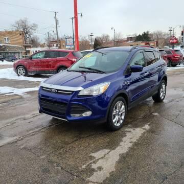 2014 Ford Escape for sale at Bibian Brothers Auto Sales & Service in Joliet IL