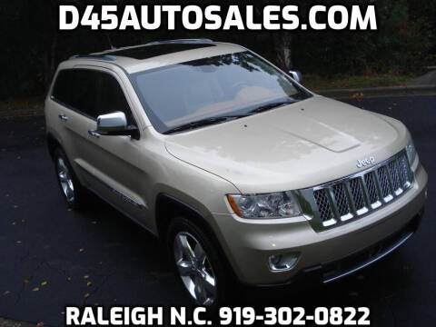 2011 Jeep Grand Cherokee for sale at D45 Auto Brokers in Raleigh NC