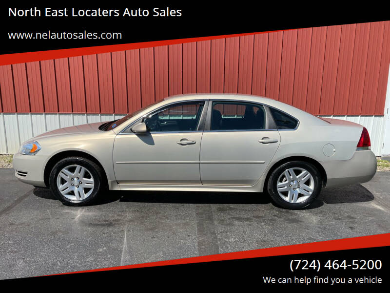 2012 Chevrolet Impala for sale at North East Locaters Auto Sales in Indiana PA