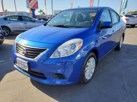 2014 Nissan Versa for sale at QUALITY AUTO FINDER in San Diego CA