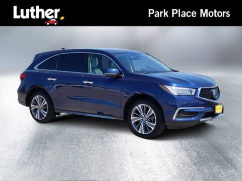 2017 Acura MDX for sale at Park Place Motor Cars in Rochester MN