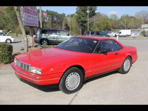 1991 Cadillac Allante for sale at Kelly & Kelly Auto Sales in Fayetteville NC