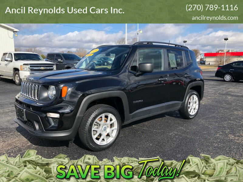 2019 Jeep Renegade for sale at Ancil Reynolds Used Cars Inc. in Campbellsville KY