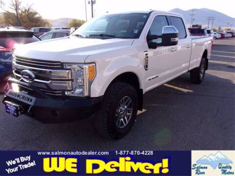 2017 Ford F-350 Super Duty for sale at QUALITY MOTORS in Salmon ID