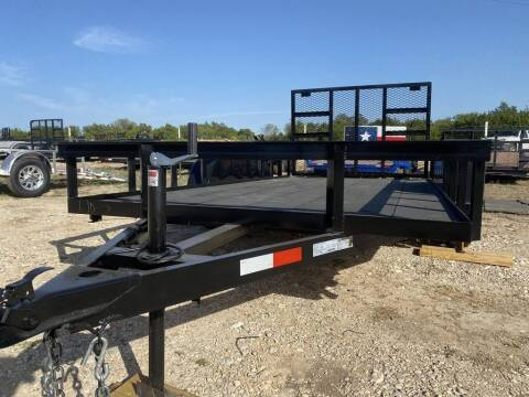 """2020 P & C  UTILITY 77"""" X 14' - IN & for sale at LJD Sales in Lampasas TX"""