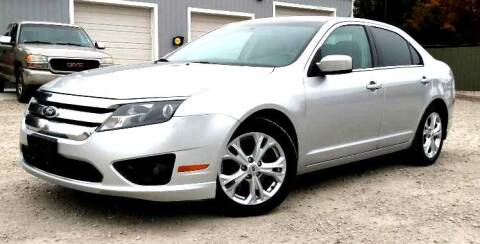 2012 Ford Fusion for sale at Hilltop Auto in Clare MI