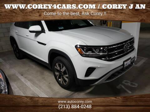 2021 Volkswagen Atlas Cross Sport for sale at WWW.COREY4CARS.COM / COREY J AN in Los Angeles CA