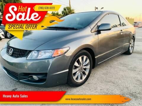 2009 Honda Civic for sale at Heavy Auto Sales in Miami FL