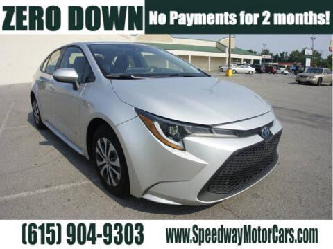 2020 Toyota Corolla Hybrid for sale at Speedway Motors in Murfreesboro TN