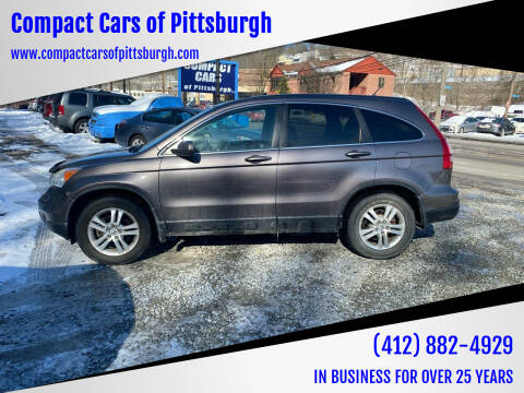 2011 Honda CR-V for sale at Compact Cars of Pittsburgh in Pittsburgh PA