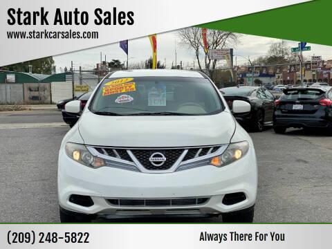 2012 Nissan Murano for sale at Stark Auto Sales in Modesto CA