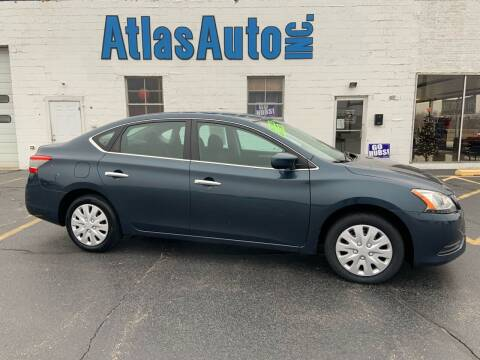 2014 Nissan Sentra for sale at Atlas Auto in Rochelle IL