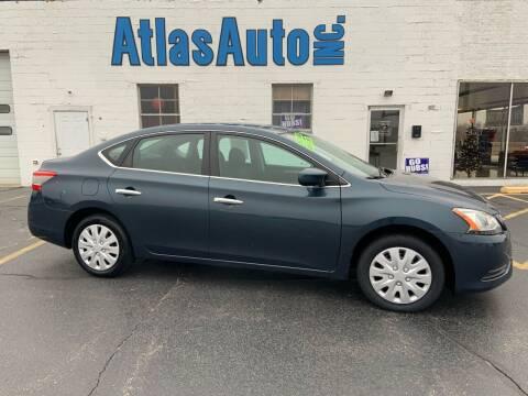 2014 Nissan Sentra for sale at Atlas Auto in Rochelle IL