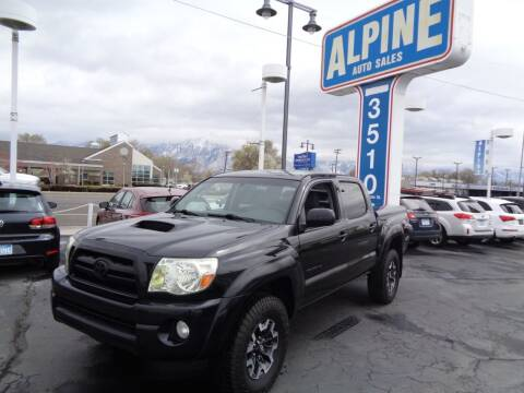 2008 Toyota Tacoma for sale at Alpine Auto Sales in Salt Lake City UT