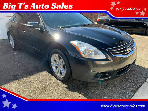 2012 Nissan Altima for sale at Big T's Auto Sales in Belleville NJ