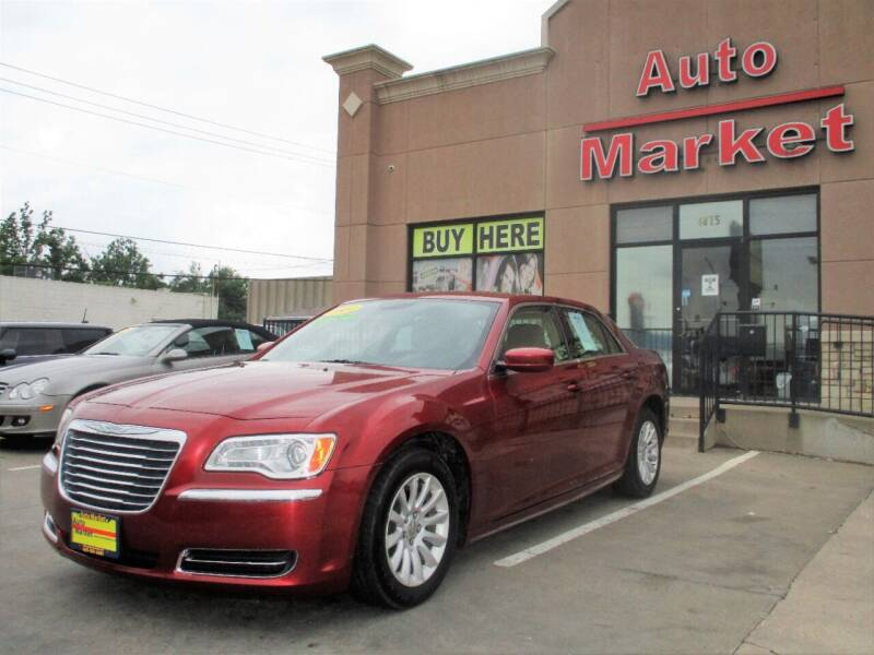 2014 Chrysler 300 for sale at Auto Market in Oklahoma City OK