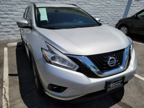 2015 Nissan Murano for sale at ADVANTAGE AUTO SALES INC in Bell CA