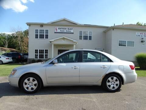 2008 Hyundai Sonata for sale at SOUTHERN SELECT AUTO SALES in Medina OH
