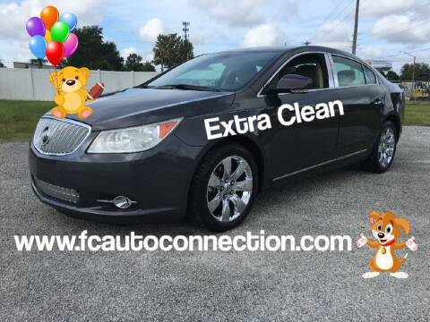 2012 Buick LaCrosse for sale at First Coast Auto Connection in Orange Park FL