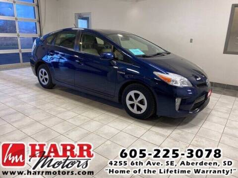 2013 Toyota Prius for sale at Harr's Redfield Ford in Redfield SD