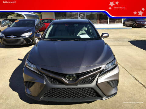 2018 Toyota Camry for sale at Tubbs Auto LLC in Tuscaloosa AL
