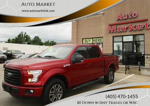 2016 Ford F-150 for sale at Auto Market in Oklahoma City OK