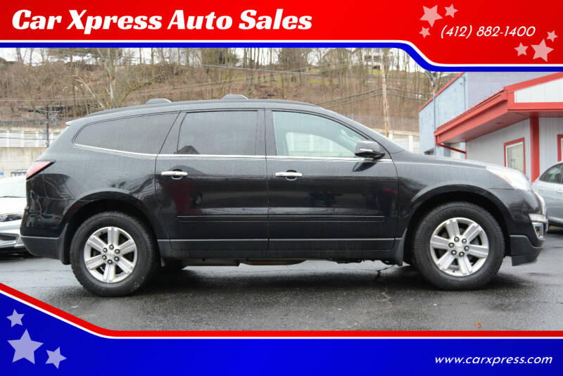 2014 Chevrolet Traverse for sale at Car Xpress Auto Sales in Pittsburgh PA