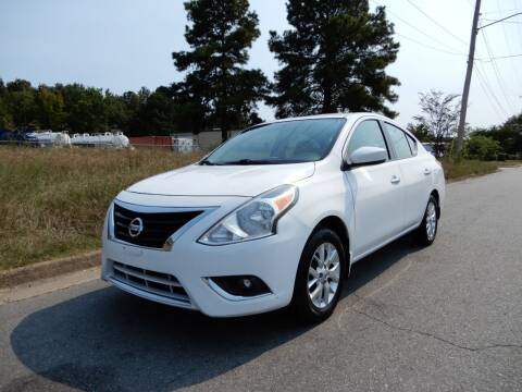 2018 Nissan Versa for sale at United Traders Inc. in North Little Rock AR