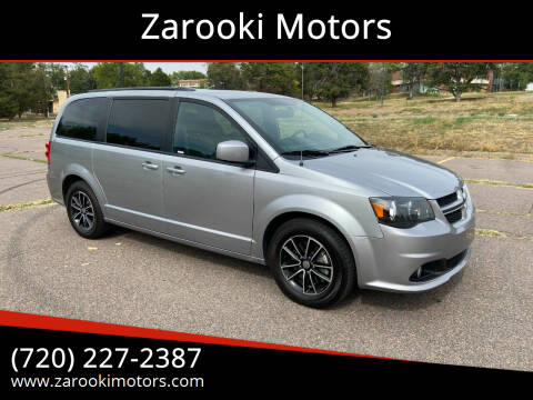 2018 Dodge Grand Caravan for sale at Zarooki Motors in Englewood CO