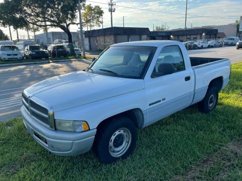 1998 Dodge Ram Pickup 1500 for sale at YID Auto Sales in Hollywood FL