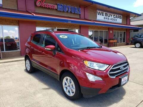2020 Ford EcoSport for sale at Ohana Motors in Lihue HI