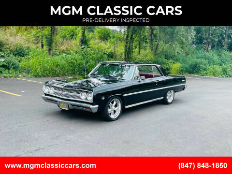 1965 Chevrolet Chevelle for sale at MGM CLASSIC CARS-New Arrivals in Addison IL