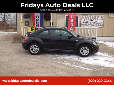 2012 Volkswagen Beetle for sale at Fridays Auto Deals LLC in Oshkosh WI